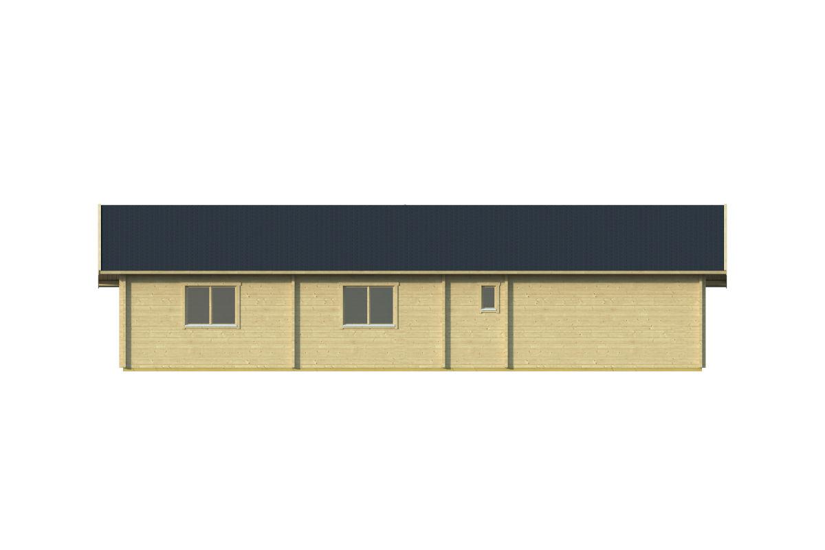 Francesca 70 - cabaña de madera con varias habitaciones