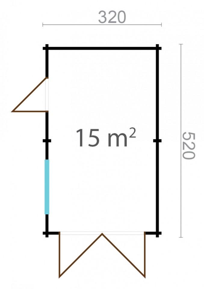 Garage simple 44A