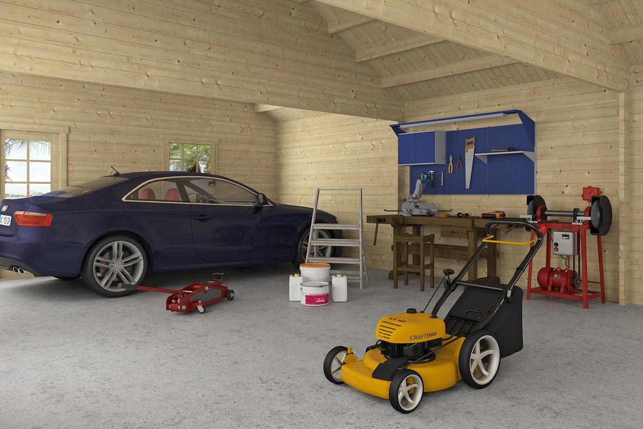 Triple garaje 44