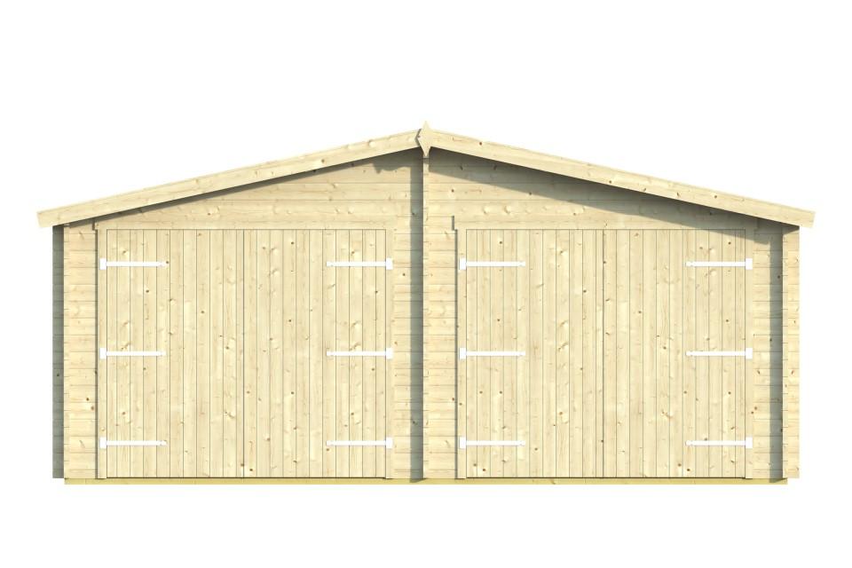 Garaje doble 44 6x6