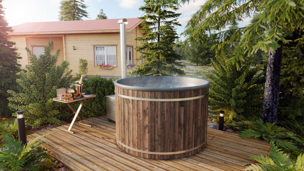 Hot tub 170 - Bañera de madera