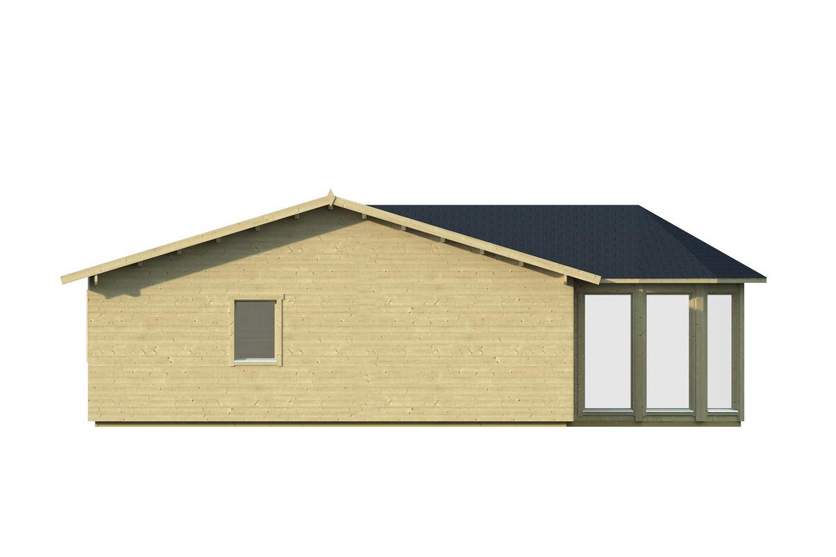 Vitoria 44+90+19 - espaciosa cabaña de madera